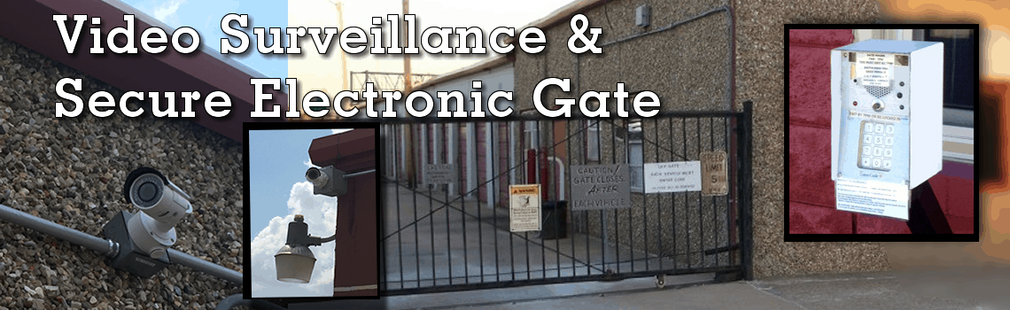 Electronic Access Gate & Video Surveillance